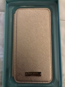 Rose Gold Kate Spade Folio for IPhone X