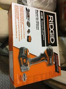 Brand New Ridgid Brushless Gen 5X Impact Driver Drill Kit  $199