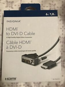 HDMI to DVI-D Cable