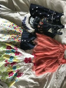 Lot of dresses 3-6 months