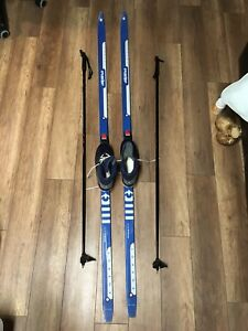 Cross Country Ski's and Poles