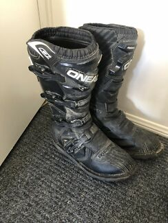 Size 10 O'Neil motocross boots