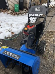 Snowblower- like new - perfect working order.