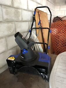 New electric snow blower for sale