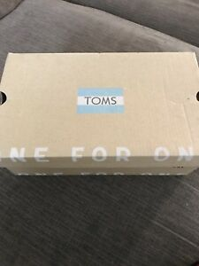 Brand new girls Toms shoes Size 3