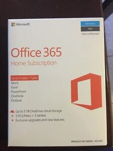 Office 365: home edition