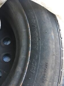 Summer tire with rim 185 60R 15