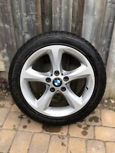 """Set of 4 BMW RIMS AND TIRES 17"""""""
