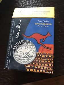 One dollar silver kangaroo proof coin. Collectable Windsor Hawkesbury Area Preview