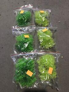 Plantes d'aquarium en plastique