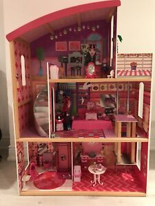3 Storey Wooden Barbie Doll House