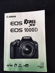 Cannon Rebel XS/EOS 1000D