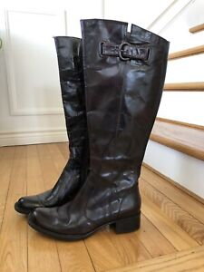 Brand new leather Crown by Born boots size 7