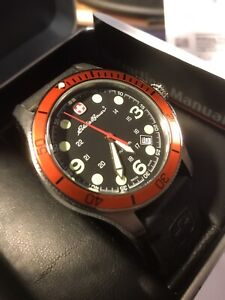 EB Swiss Military Dive Watch