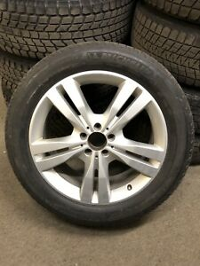 MERCEDES OEM WHEELS & MICHELIN 255/50-19 WINTER TIRES ML GLE