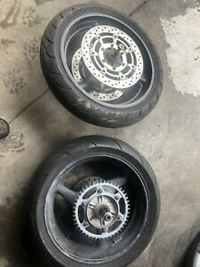 2002 CBR F4i Front And Back Rims