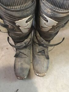 Size 12 Thor Dirtbiking Boots