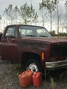 1978 gm square body project