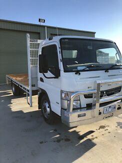 Fuso tray truck