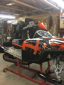 Arctic cat crossfire 800HO/ M8 / sled deck package