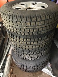 Winter Tires 275/65 R18