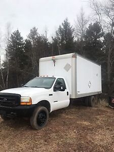 1999 ford F450 cube truck