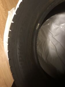 Hankook Winter studded tires (215/60 R17)