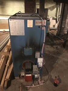 Oil furnace and all ductwork