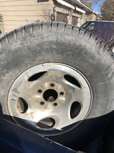 16 inch Ford F-150 rims and tires