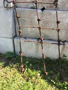 Antique Farm Harrow Sections & Other Farm Items For Man Art