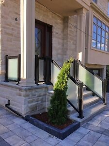 ~~Aluminum Railings~~ Glass Railings~~