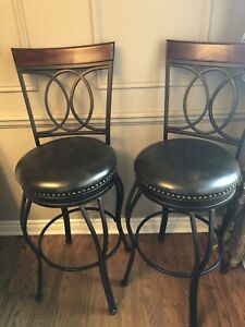 High dining chairs (2 for one price)