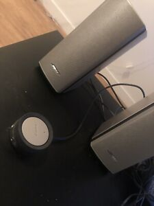 Bose companion 20 with all accessories and box