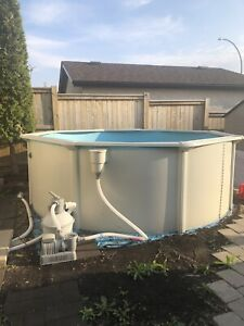 14ft pool and heater