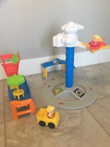Little people airplane/control tower