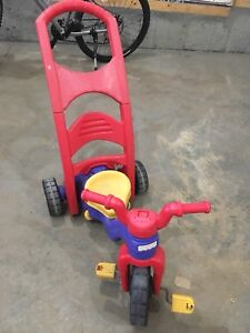Fisher price rock , roll and ride trike