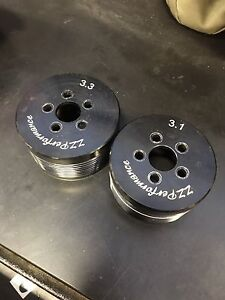 Grand Prix gtp supercharger pulley