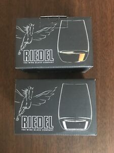 Crystal ice wine / spirits glasses. Riedel