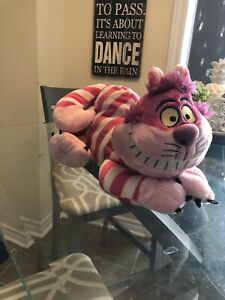 Disney Store Alice In Wonderland Cheshire Cat Plush