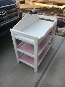 Baby change table for sale