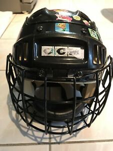 CCM youth hockey helmet