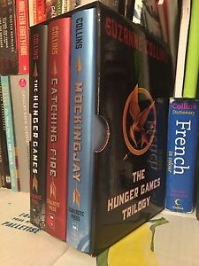 NEW Books: Hunger Games, Hardcover Trilogy Box Set