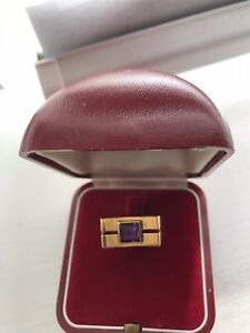 Beautiful Square 18k Ladies Ring