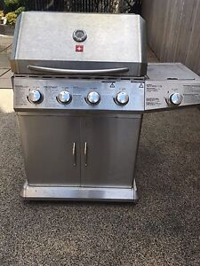 Stainless barbecue, Works Great!!