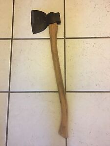Beautiful large antique axe.