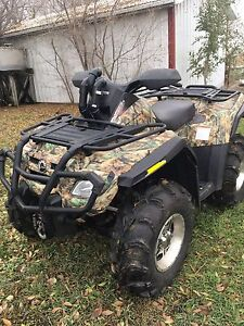 2007 can am outlander 800 MINT 1600k