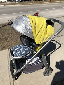 2014 uppababy Cruz in excellent condition