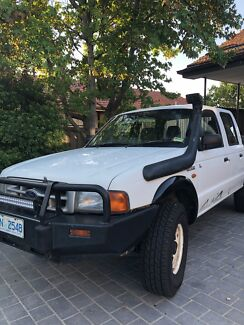 Ford Courier 4x4 2001 Turbo Diesel Dual Cab
