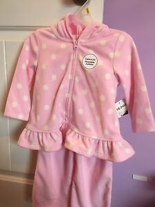 Girls fleece suit