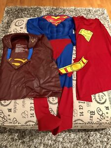 Superman Costume with Kewl gear for kids ages 6-7 Years